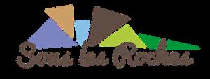Logo sous les roches
